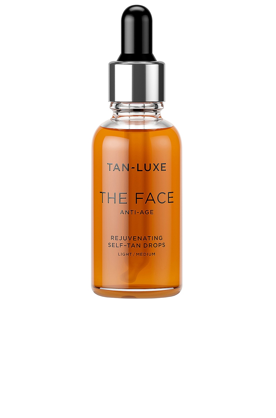 Tan Luxe The Face Anti-Age Rejuvenating Self-Tan Drops in Light / Medium