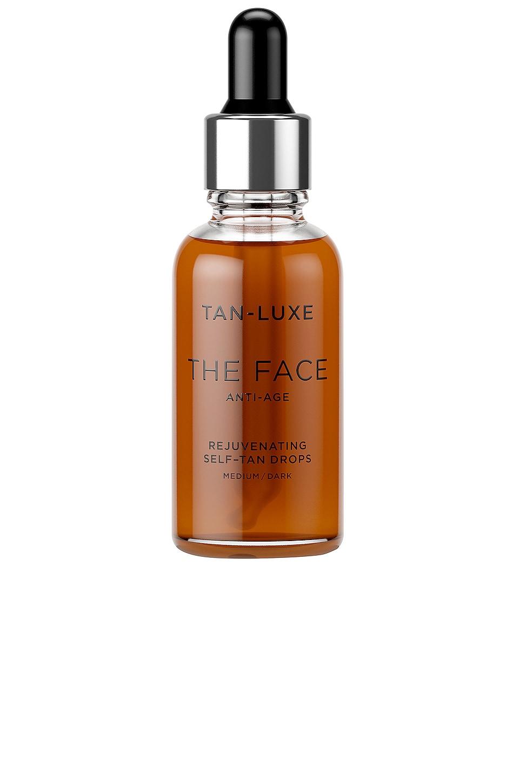 Tan Luxe The Face Anti-Age Rejuvenating Self-Tan Drops in Medium / Dark