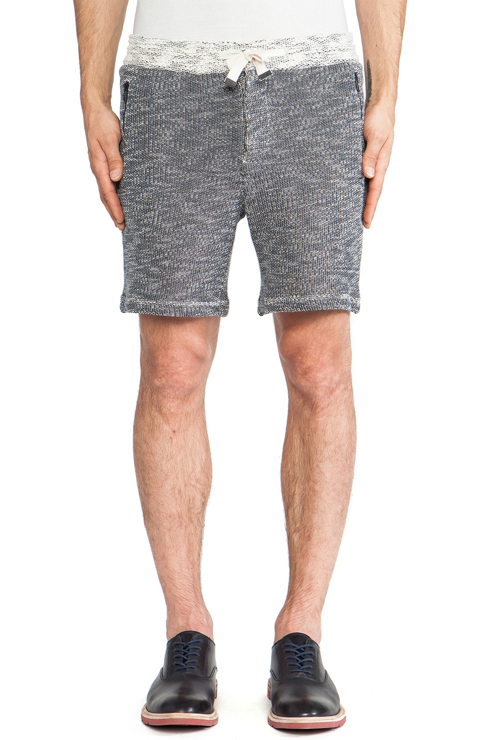 TIMO WEILAND Sweatshorts in Navy