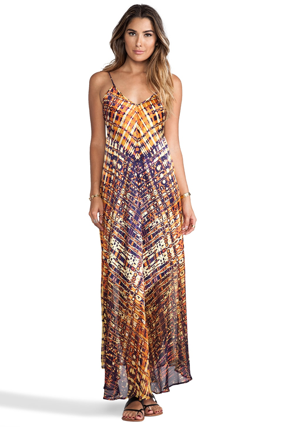 Twelfth Street By Cynthia Vincent Braided Strap Maxi in Venice Beach