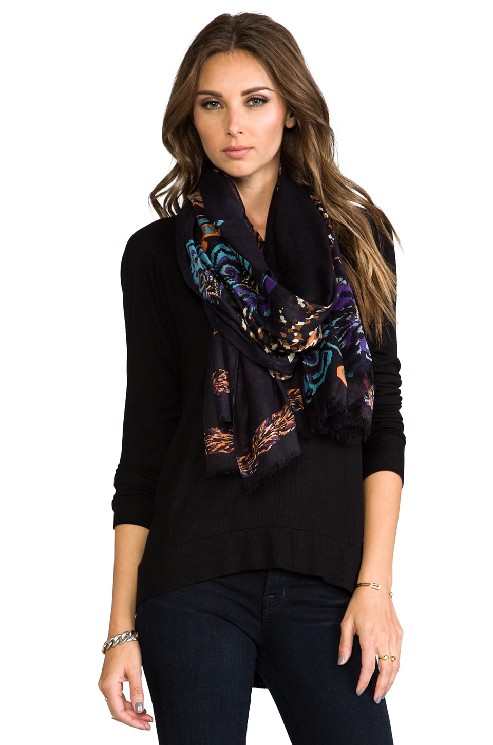 Twelfth Street By Cynthia Vincent We Shall See Chevy Blossom Scarf in Chevy Blossom