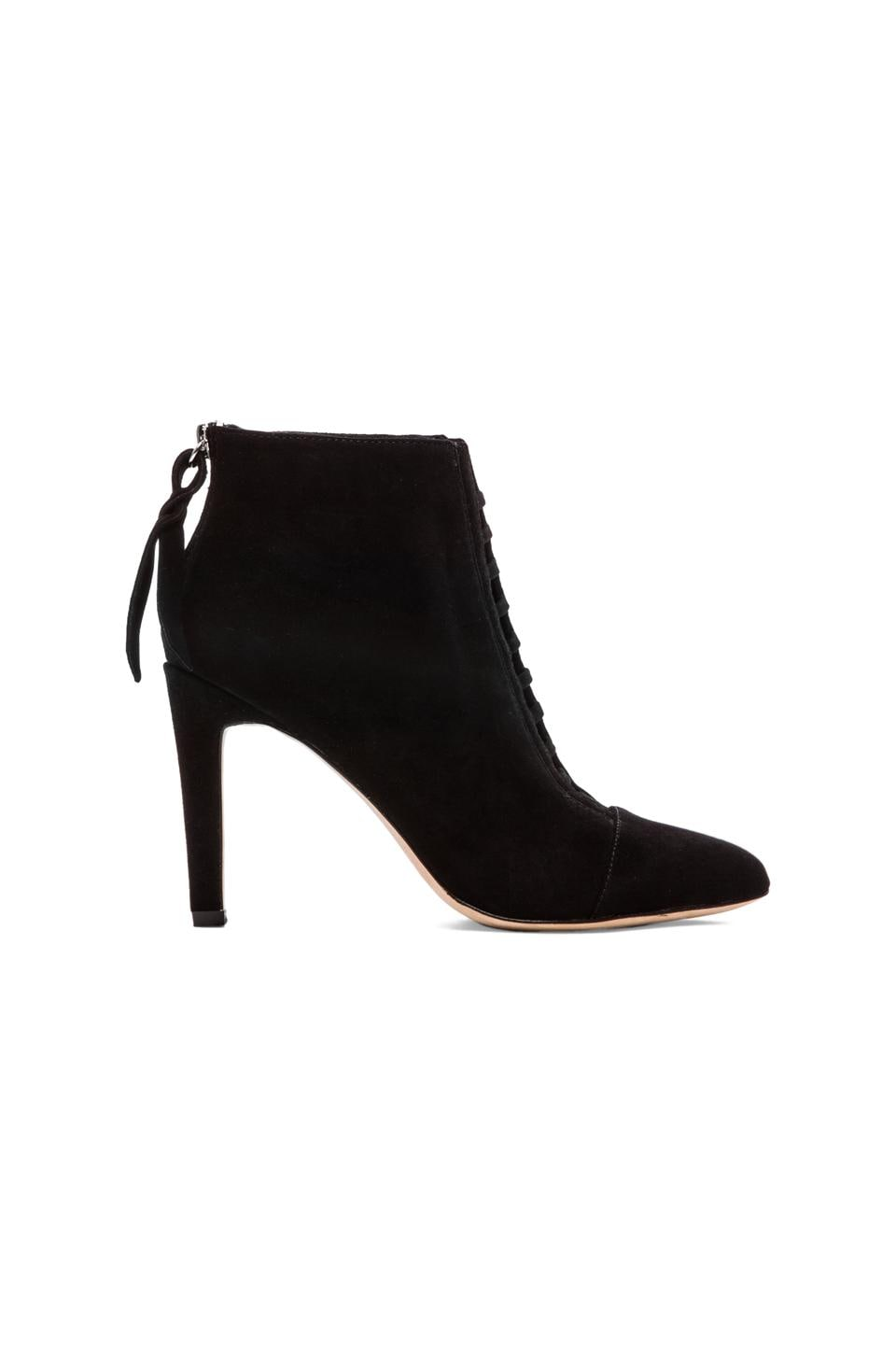 Twelfth Street By Cynthia Vincent Devon Suede Bootie in Black