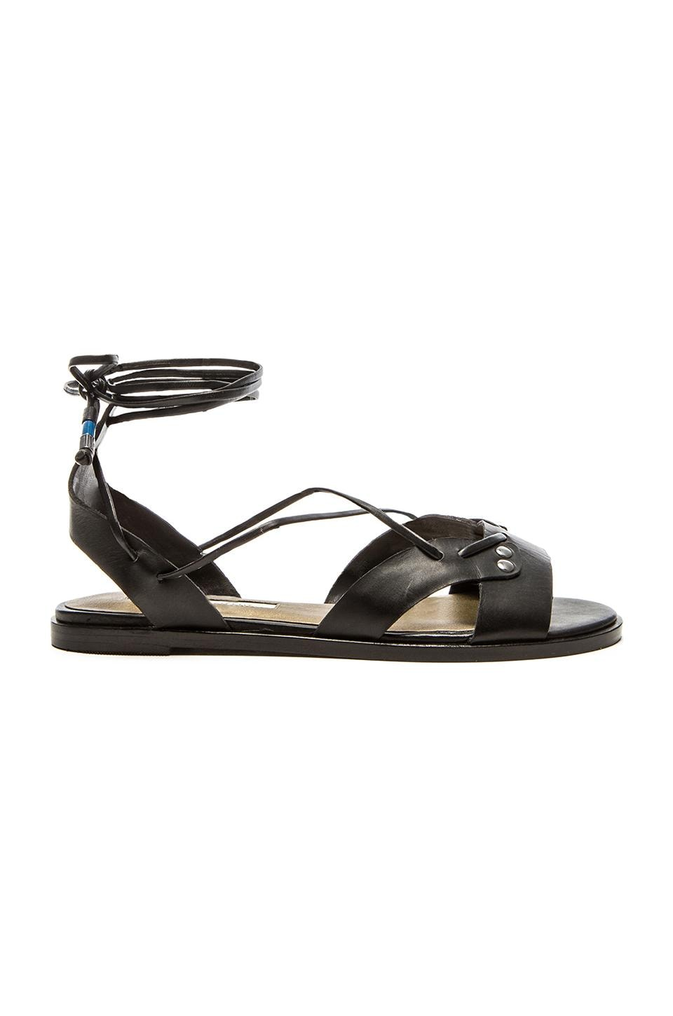 Twelfth Street By Cynthia Vincent Fantine Sandal in Black
