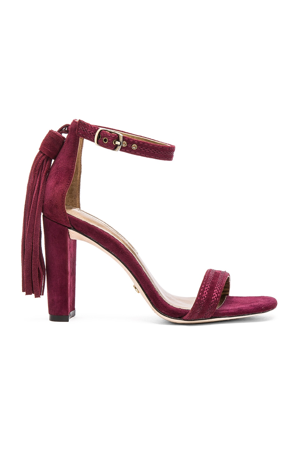 Twelfth Street By Cynthia Vincent Walter Heel in Burgundy