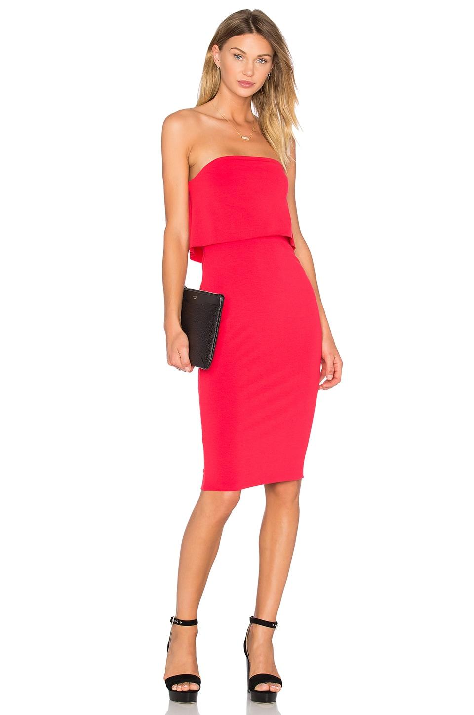 Viscose Stretch Strapless Dress by twenty