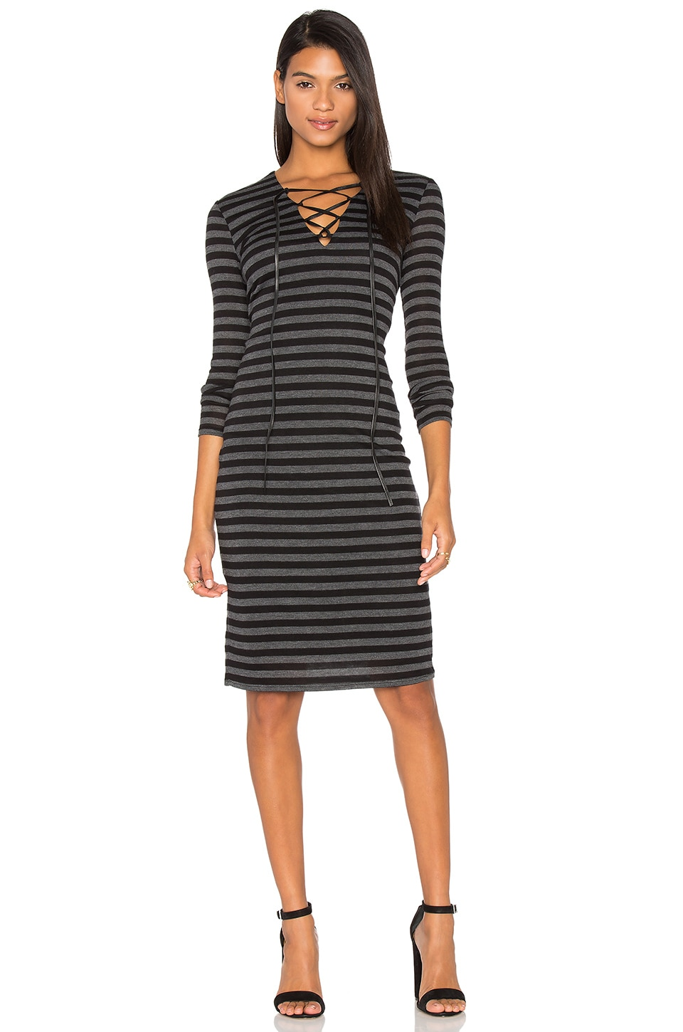 Luxe Lace Up Dress by twenty