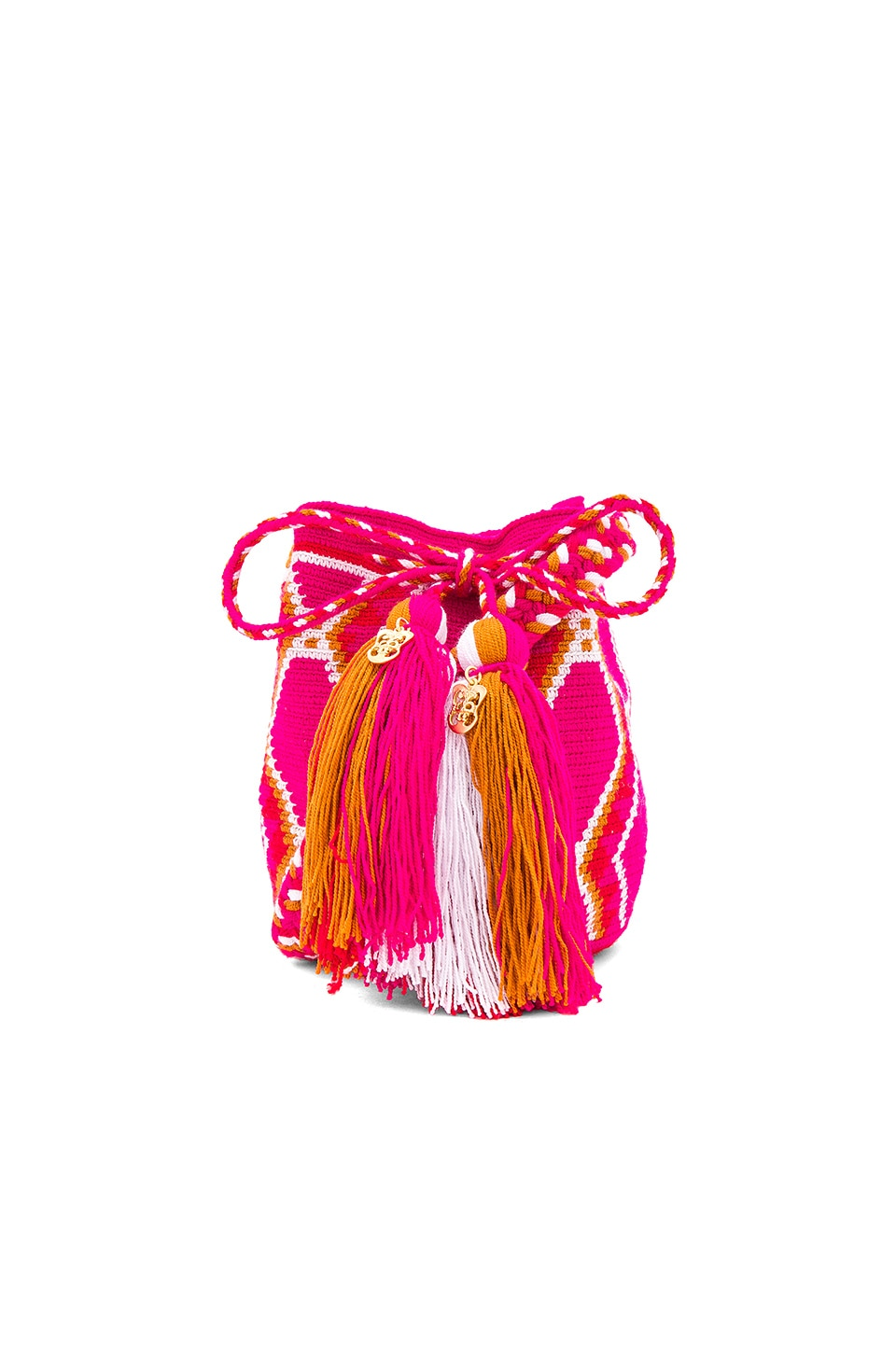 the way u Mini Mochila Bucket Bag in Panther