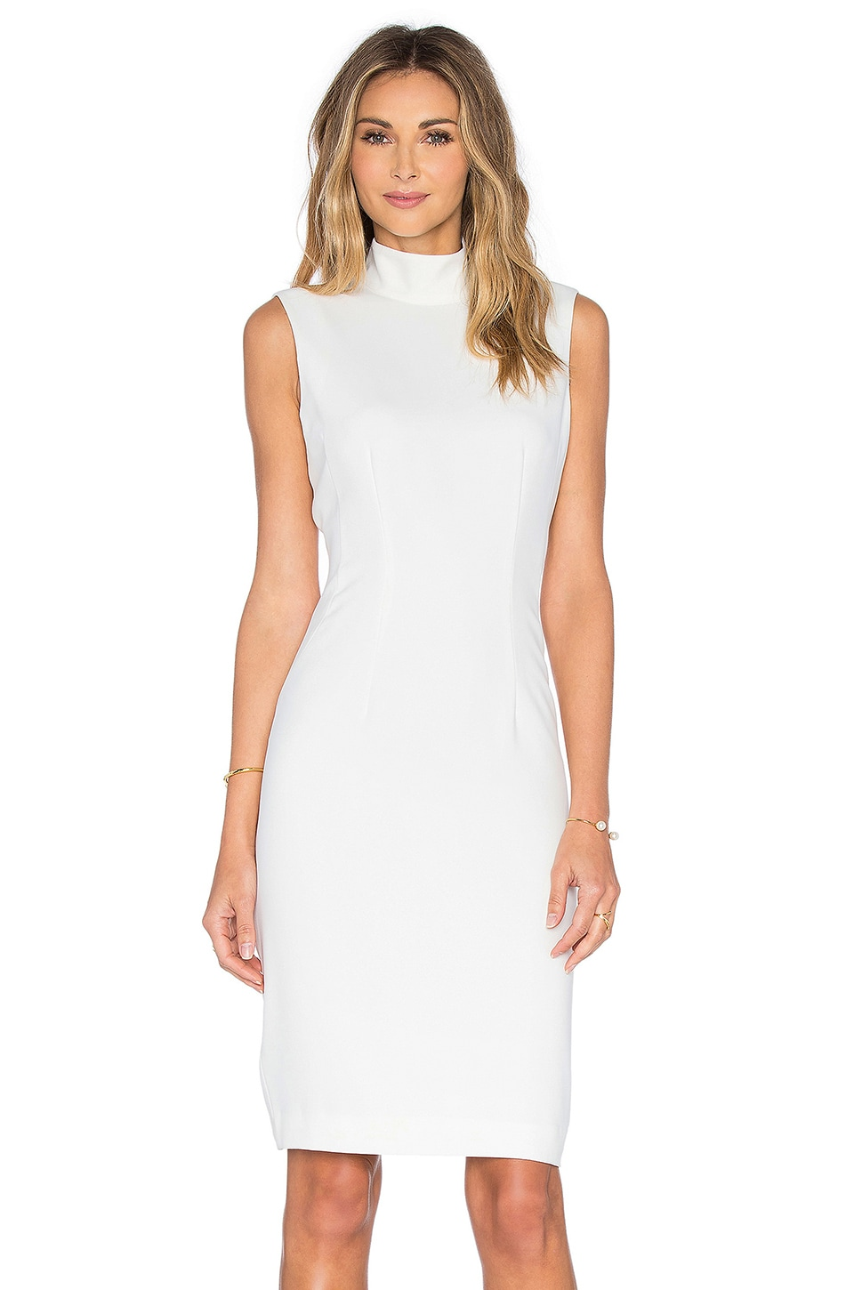 TY-LR The Elonis Dress in White