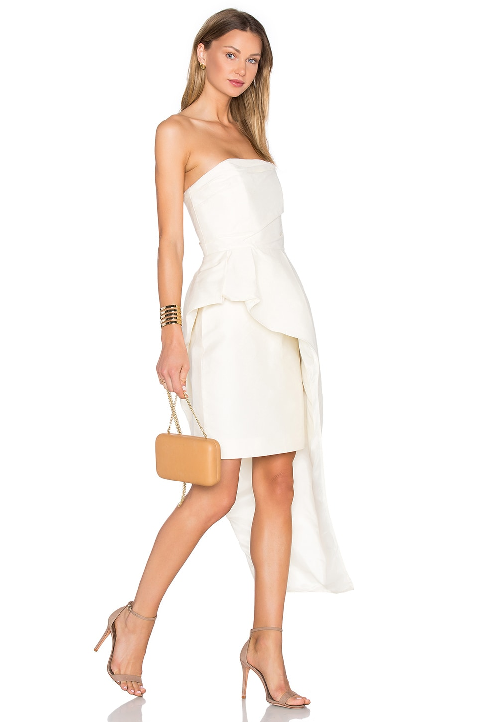 The Alston Silk Cotton Dress by TY-LR