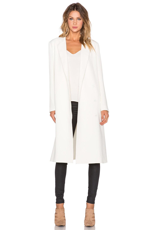 TY-LR Classic Coat in Cream