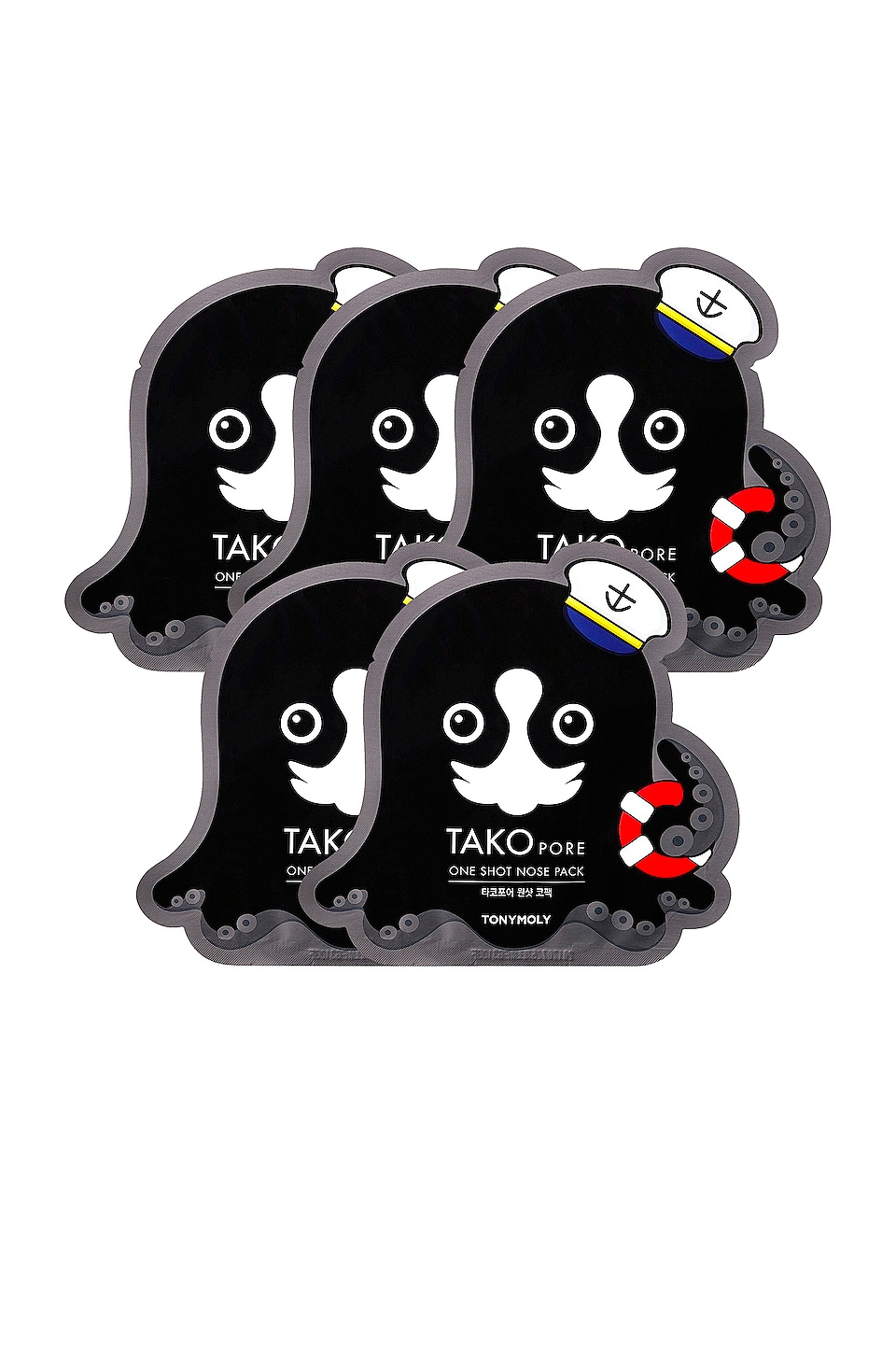 TONYMOLY TRATAMIENTO TAKO PORE ONE SHOT NOSE PACK