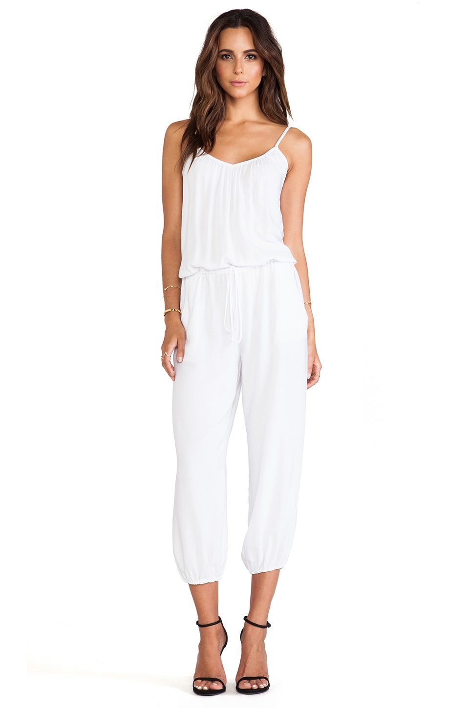 Tysa Claudette Jumpsuit in White