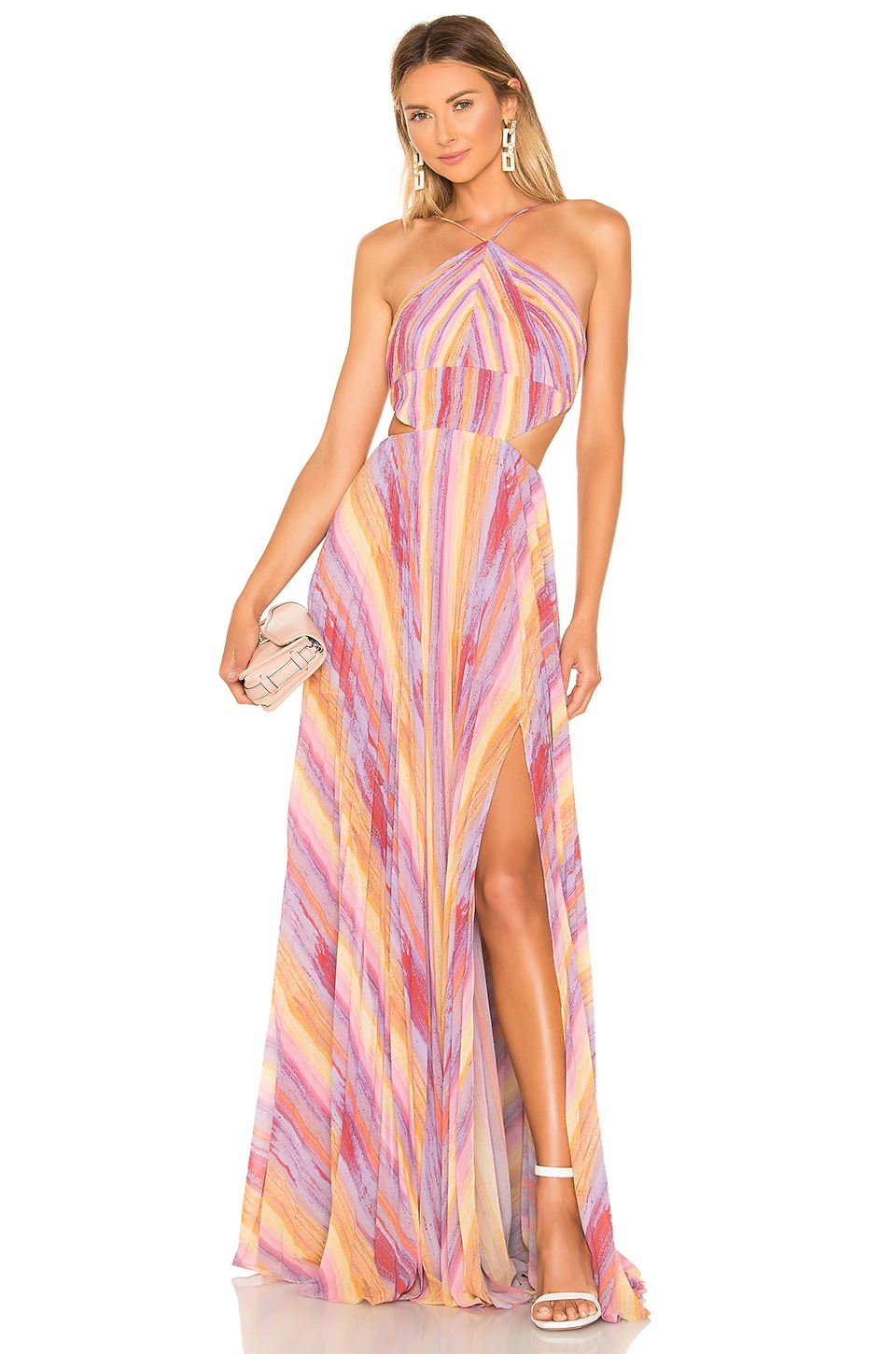 AMUR Janet Gown in Multi