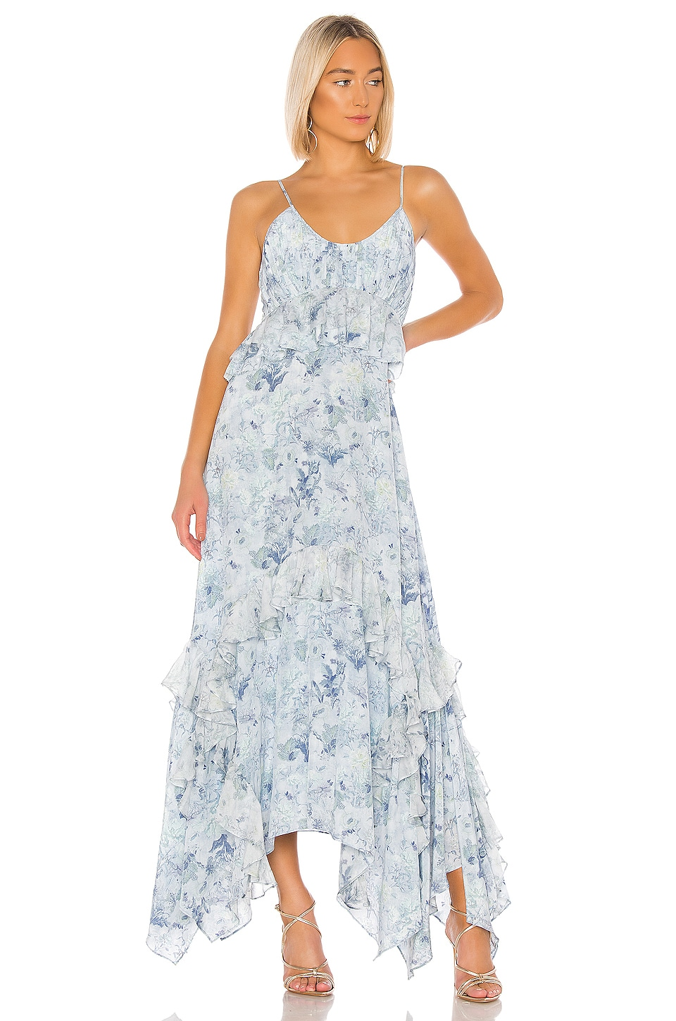 AMUR Promise Dress in Icy Blue