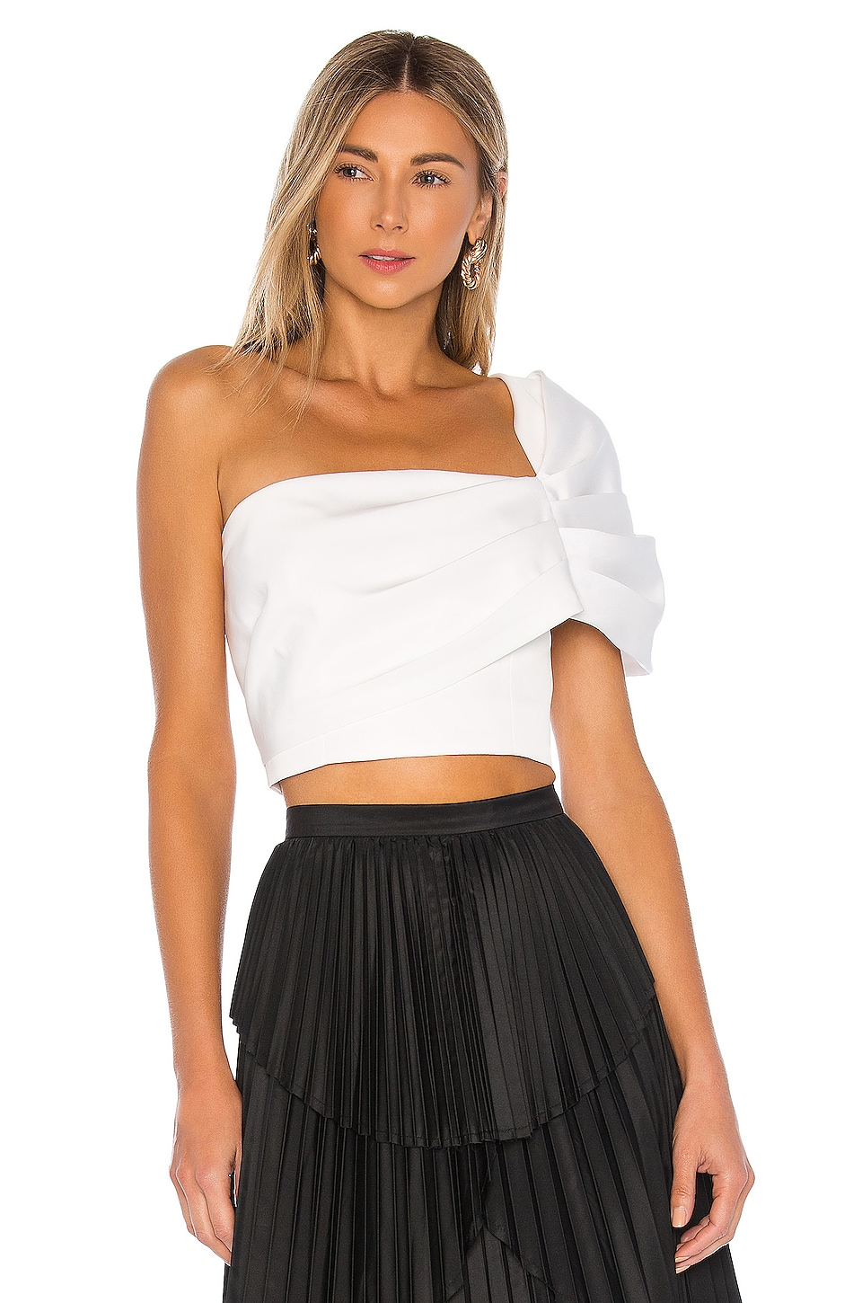 AMUR Lucia Top in White