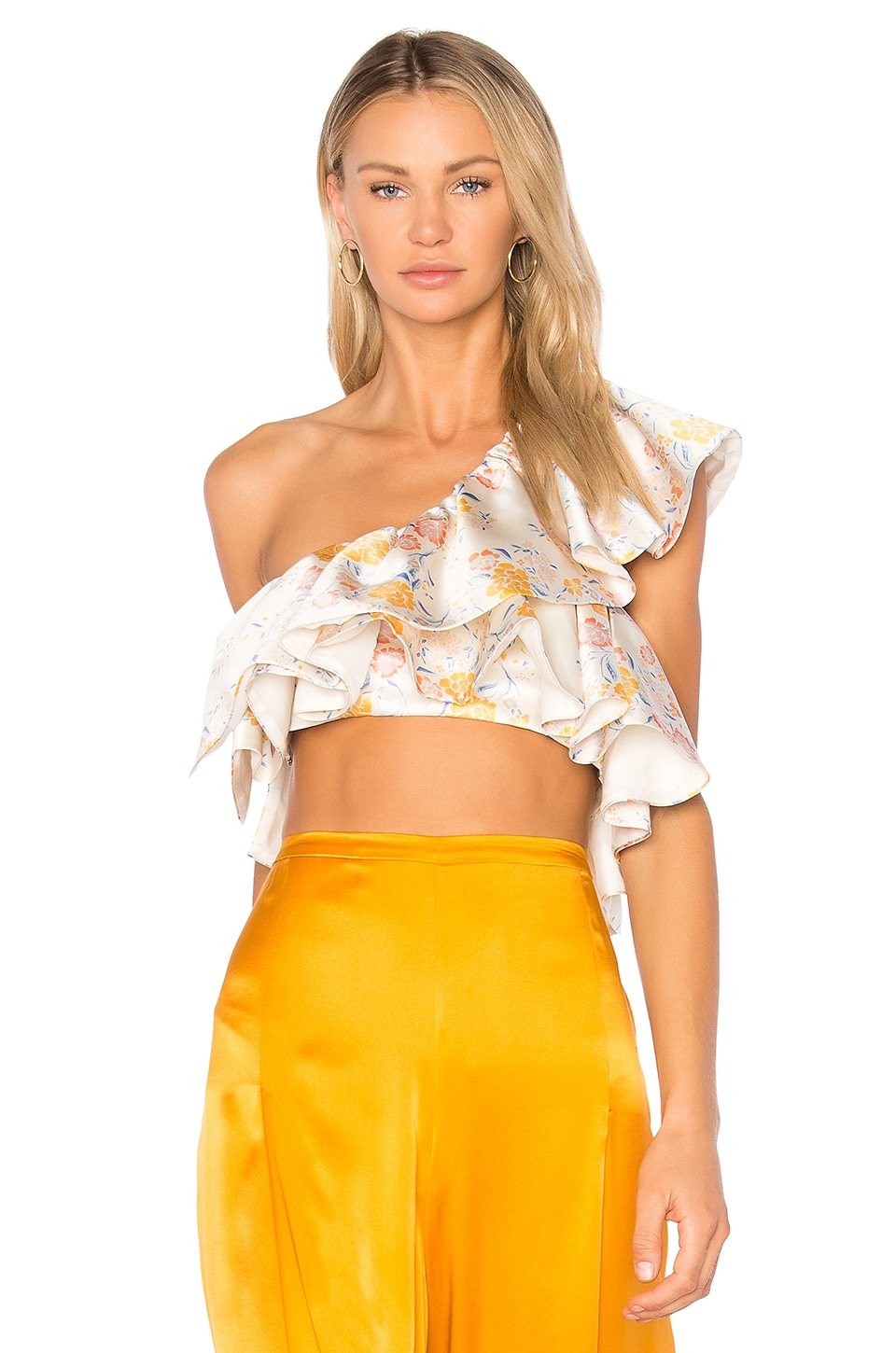 AMUR Jessica Top in Ivory