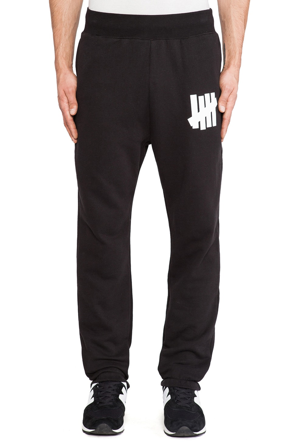Undefeated 5 Strike Basic Sweatpant in Black