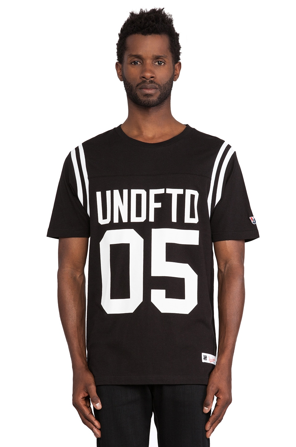 Undefeated Gridiron Tee in Black