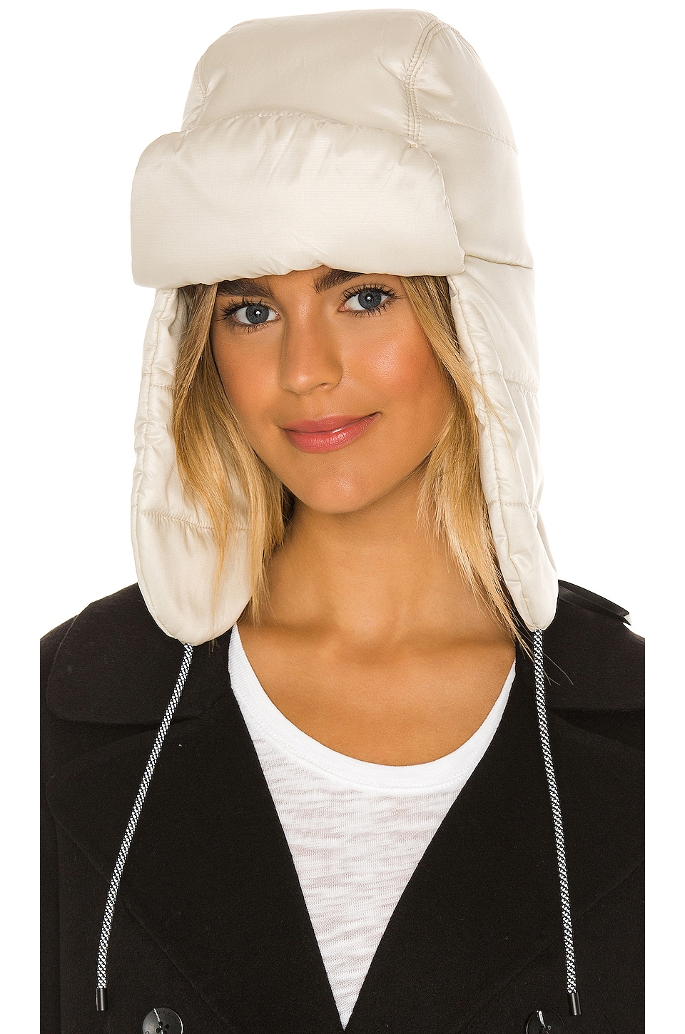 UGG All Weather Trapper Hat in Ivory