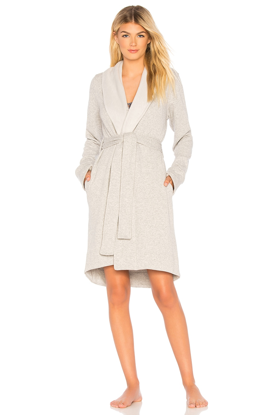 UGG Blanchie II Robe in Seal Heather