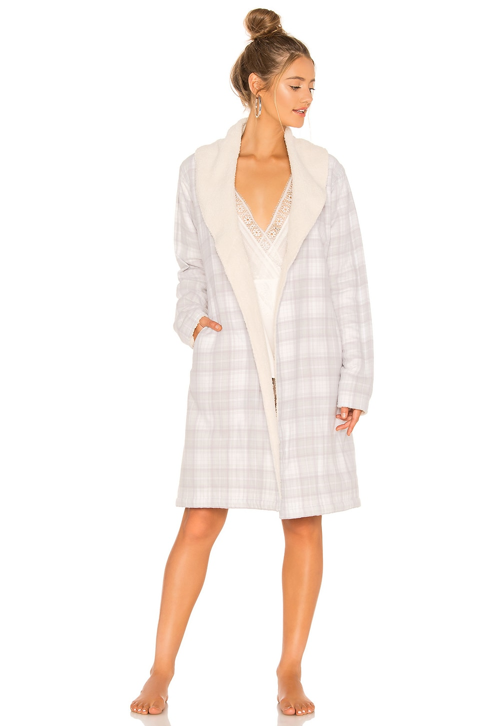 Anika Flannel Robe