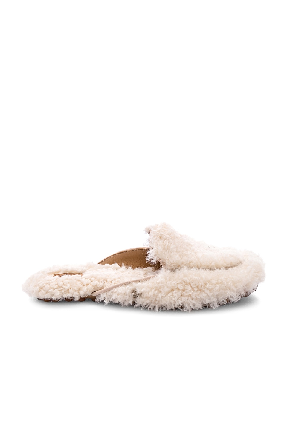 UGG Lane Fluff Loafer in Natural