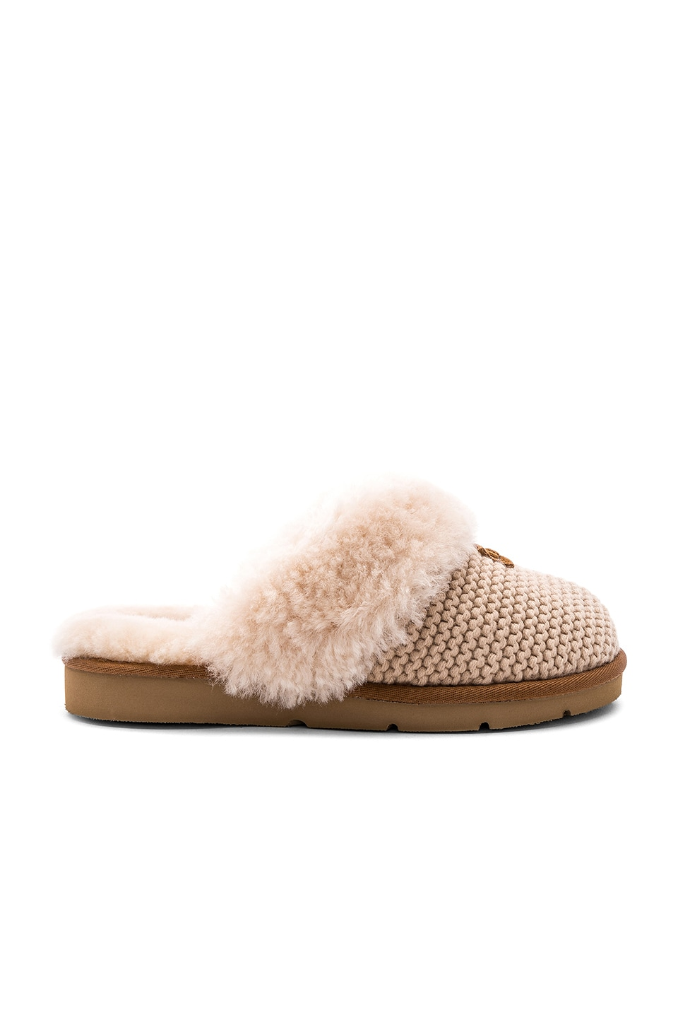 UGG Cozy Knit Slipper in Cream