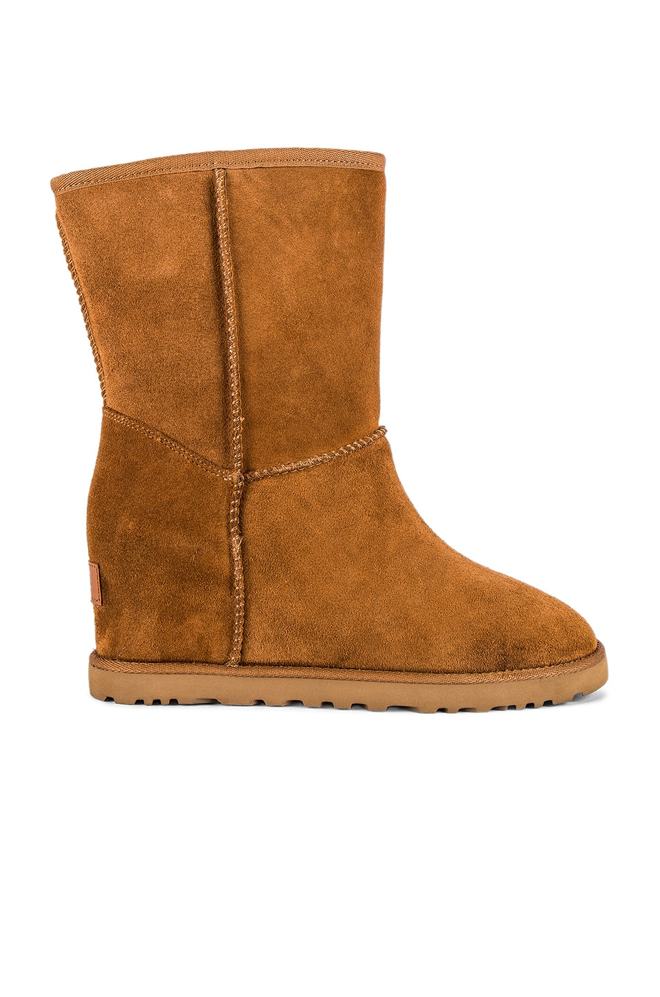 UGG Classic Femme Short Boot in Chestnut