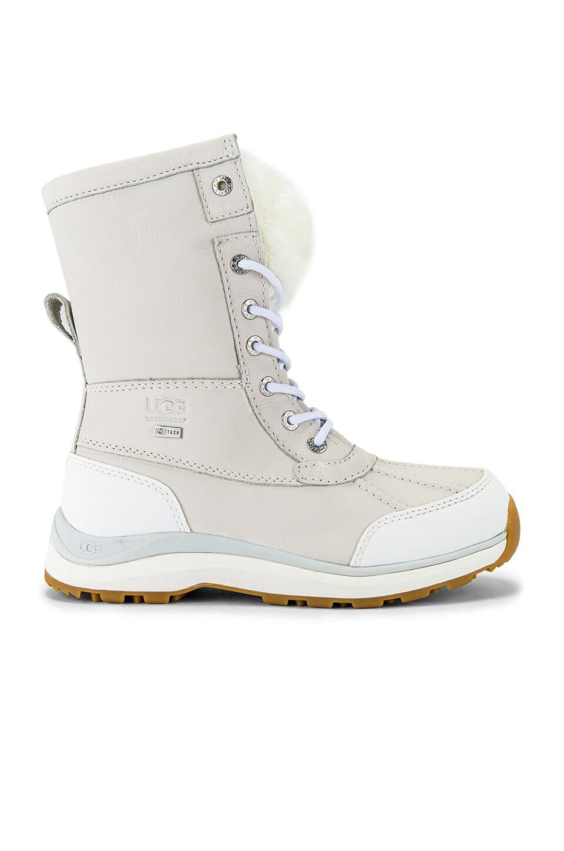 UGG Adirondack III Fluff Boot in White