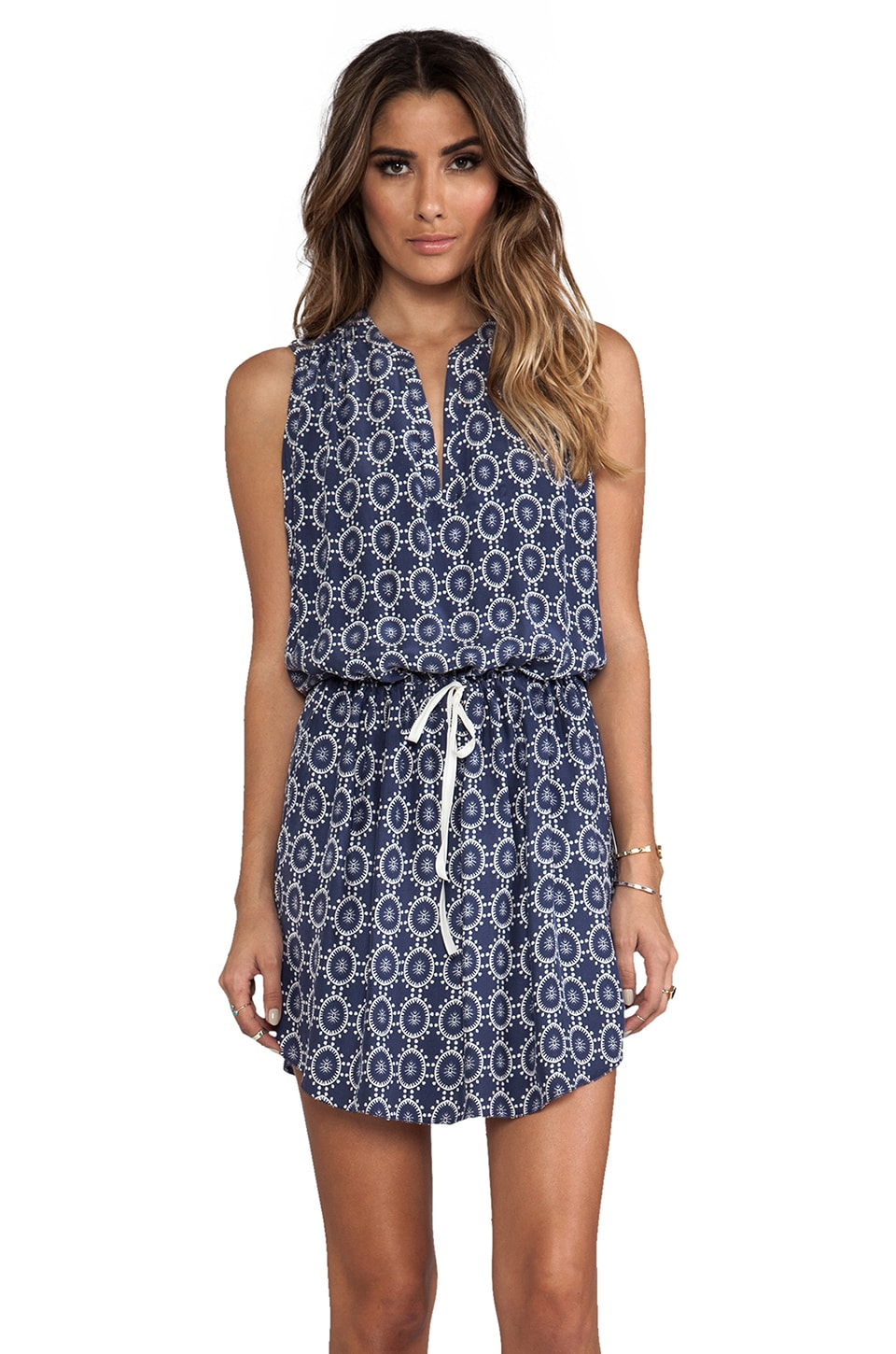 Ulla Johnson Mila Dress in Block Print