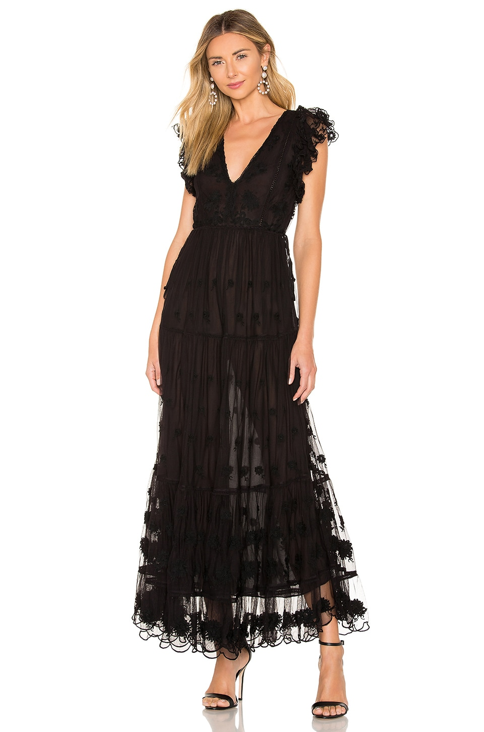 Ulla Johnson Fifi Dress in Raven