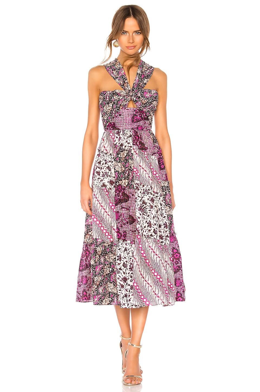 Ulla Johnson Naaila Dress in Fuchsia