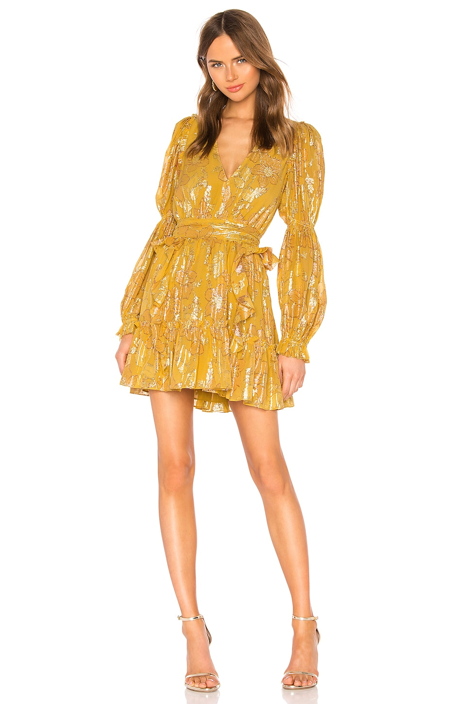 Ulla Johnson Ursa Dress in Citrine