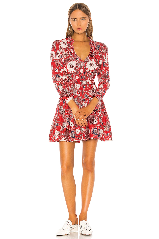Ulla Johnson Liv Dress in Scarlet
