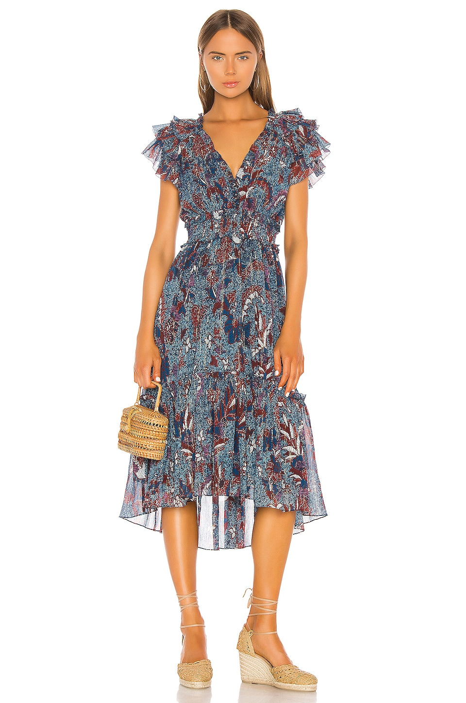 Ulla Johnson Cicely Dress in Azul