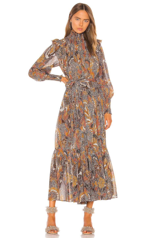 Ulla Johnson Constantine Dress in Amber