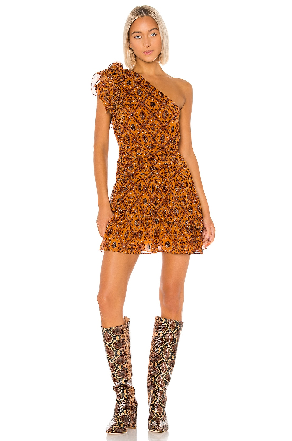 Ulla Johnson Kaia Dress in Ochre