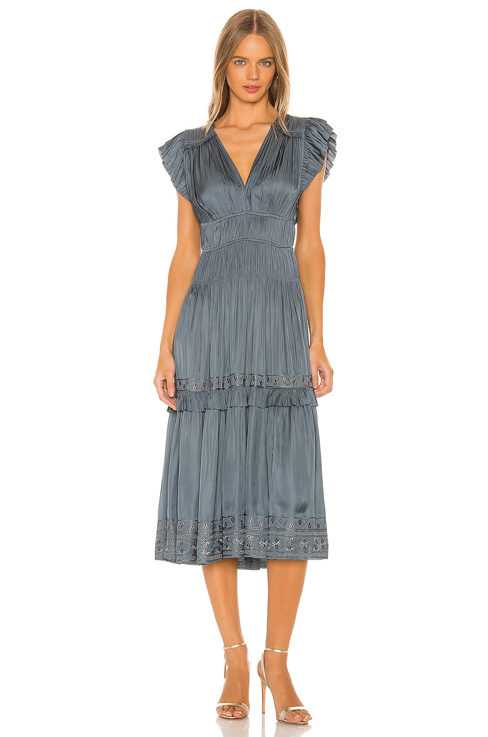 Ulla Johnson Claudia Dress in Slate