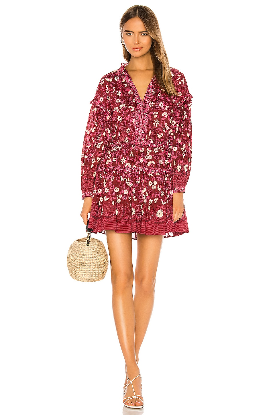 Ulla Johnson Marigold Dress in Burgundy