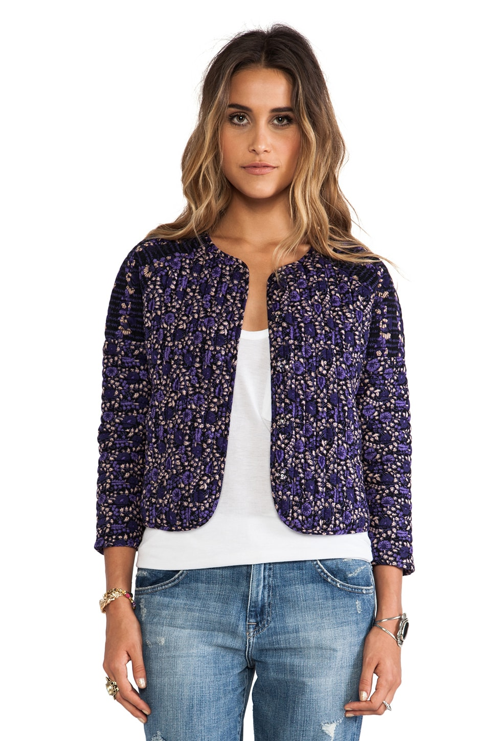 Ulla Johnson Casbah Jacket in Eclipse