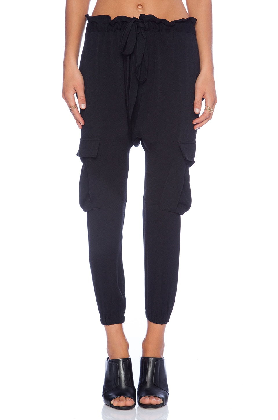 Ulla Johnson Army Pant in Jet