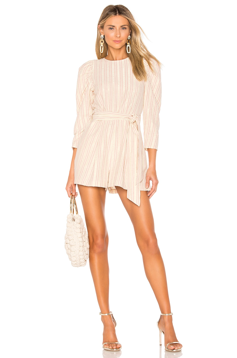 Ulla Johnson Vika Playsuit in Natural
