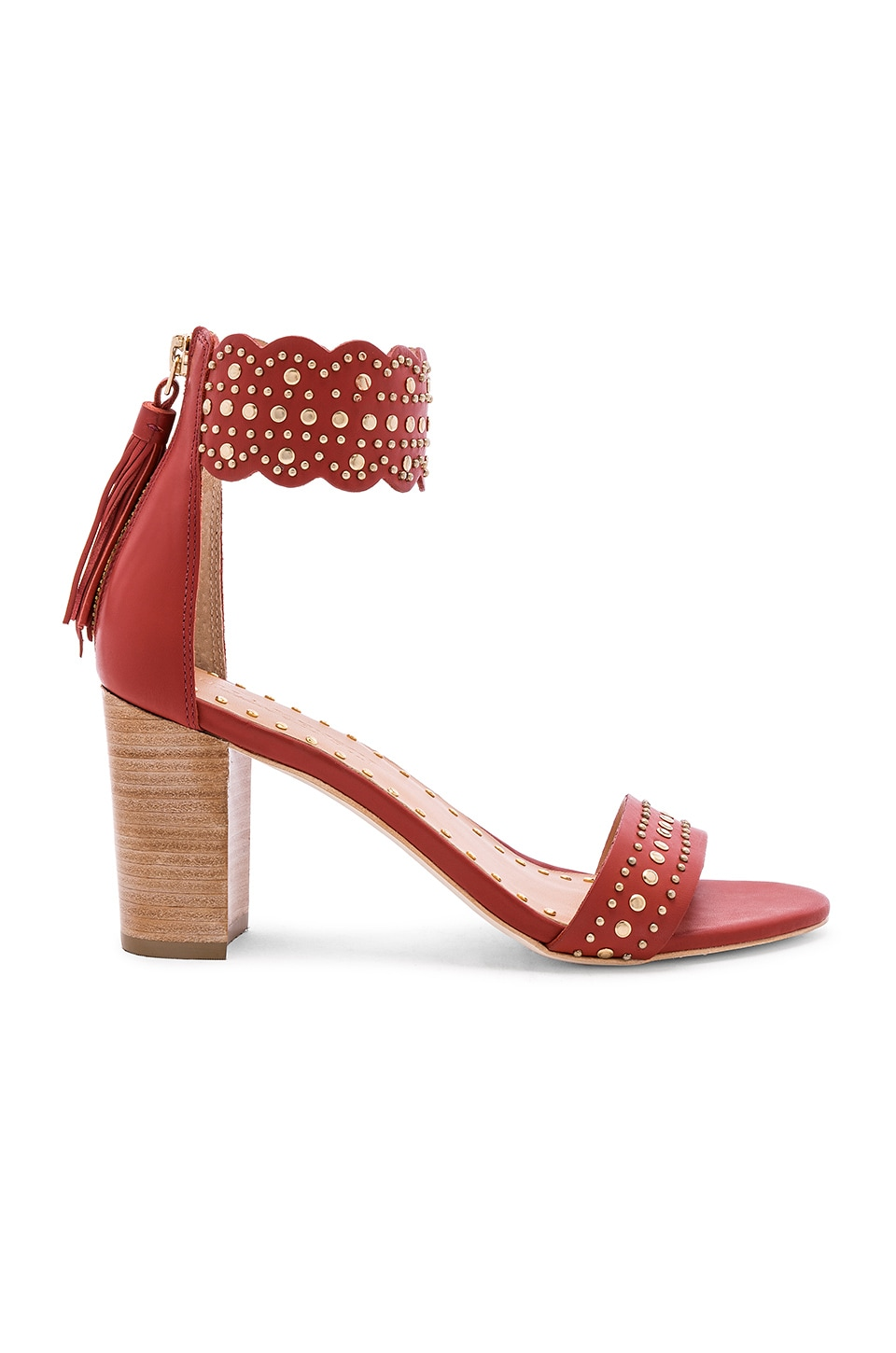 Ulla Johnson Solange Sandal in Cherry