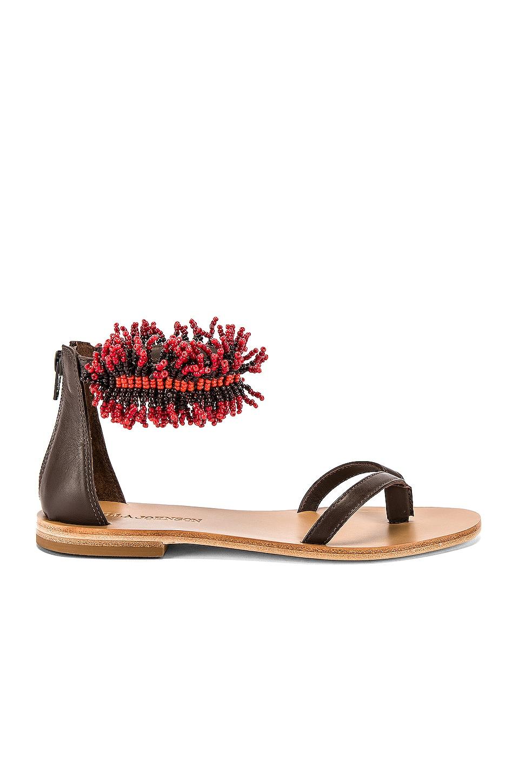 Ulla Johnson Imade Sandal in Crimson