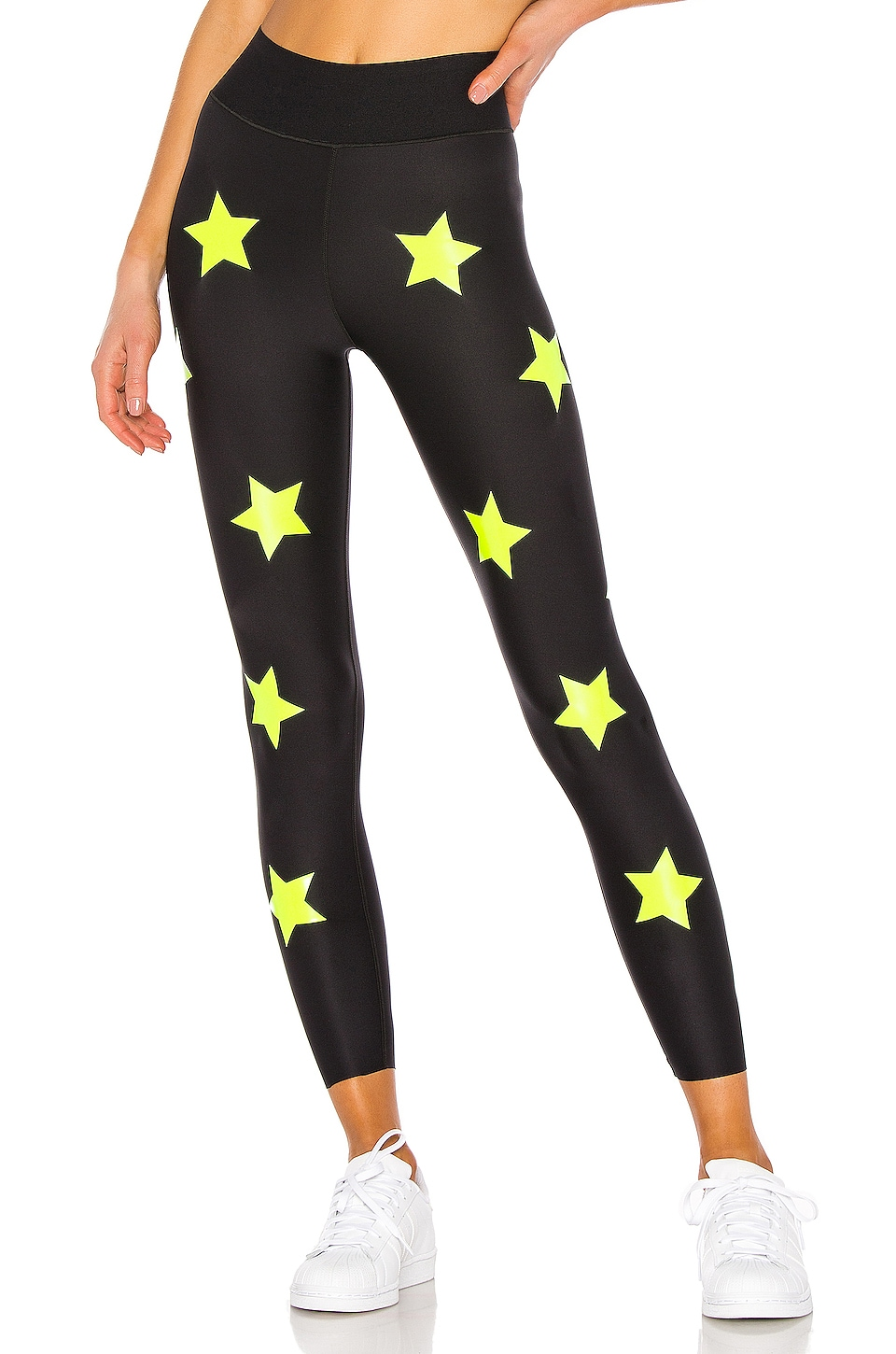 ultracor Ultra Lux Knockout Legging in Nero Neon Yellow