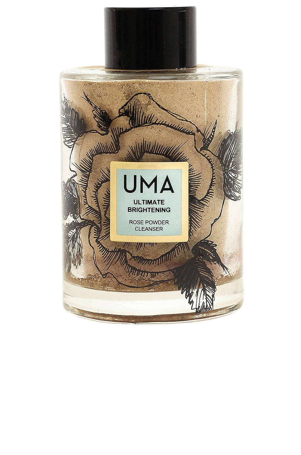 UMA Ultimate Brightening Rose Powder Cleanser