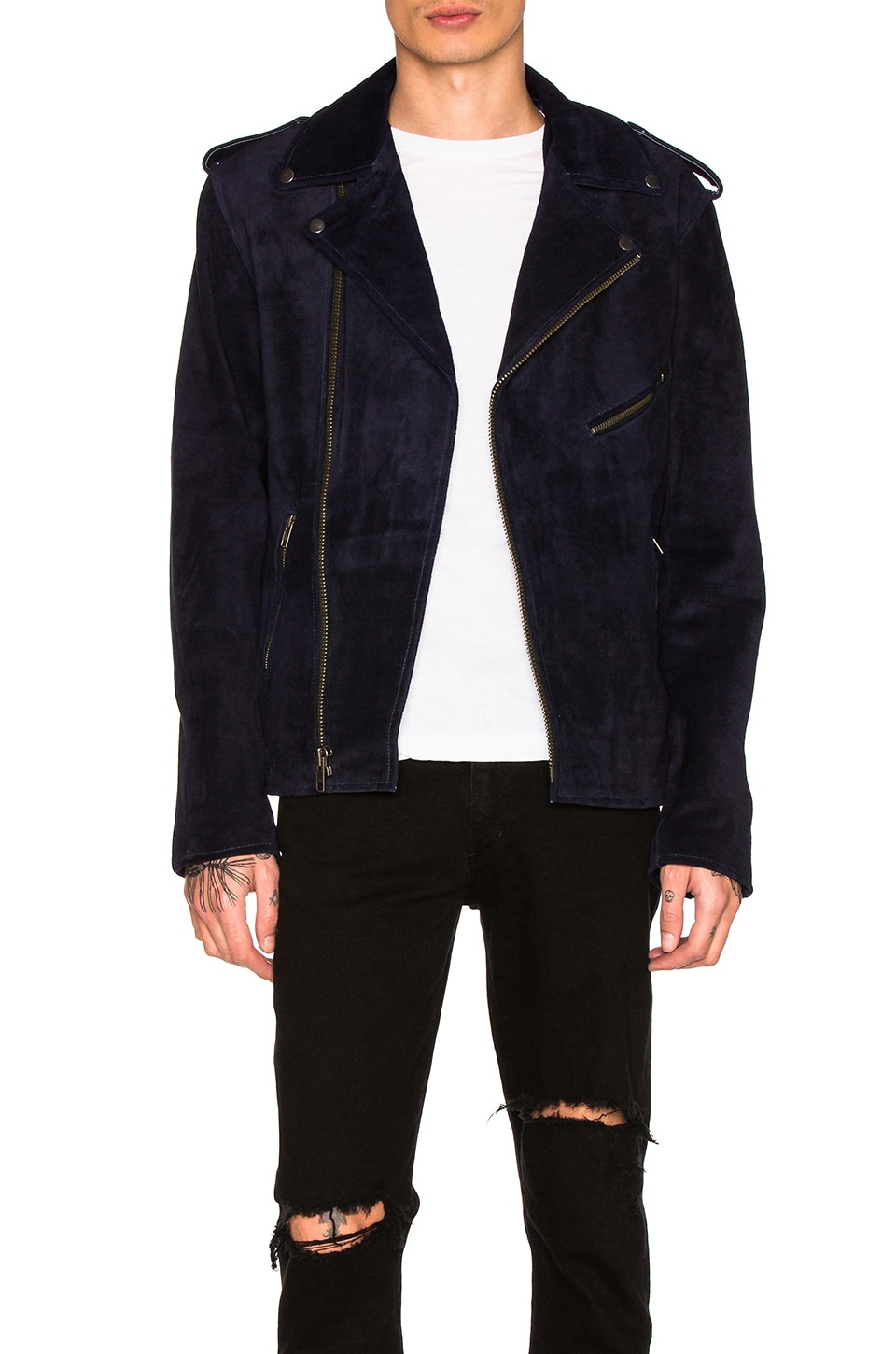 Easy Rider Suede Jacket by Understated Leather