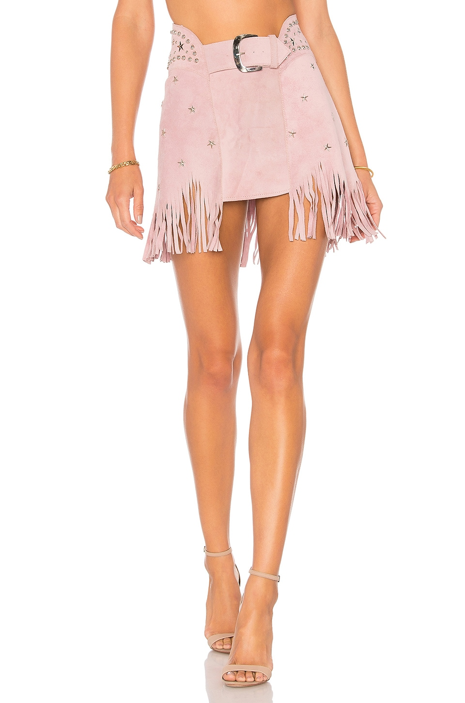 Understated Leather x REVOLVE Paris Texas Skirt in Lilac
