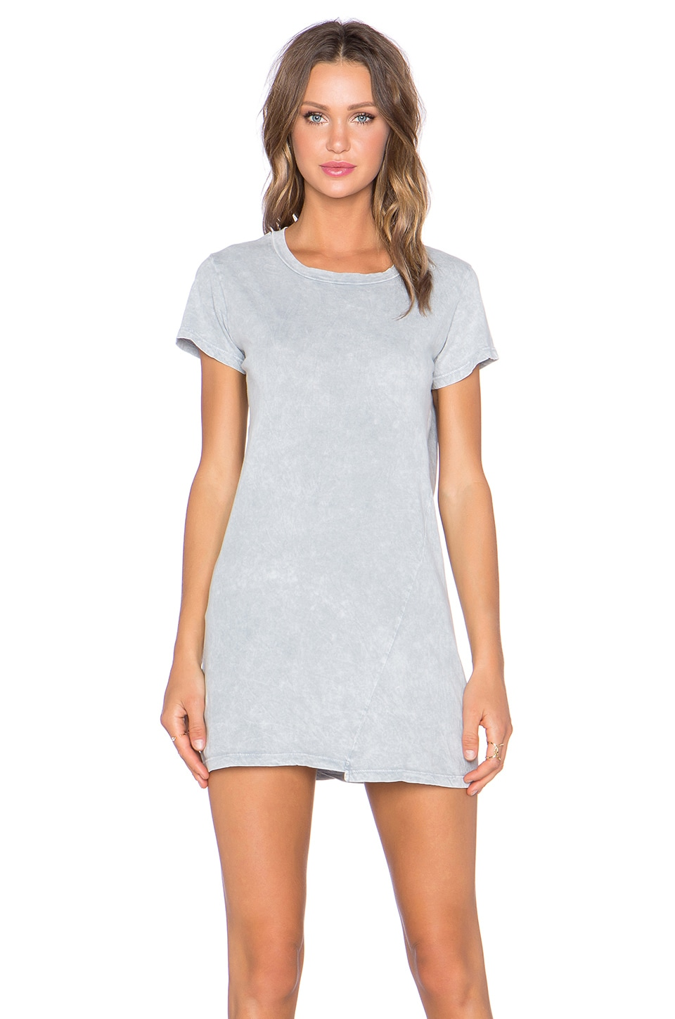 une Tara Tee Shirt Dress in Cement