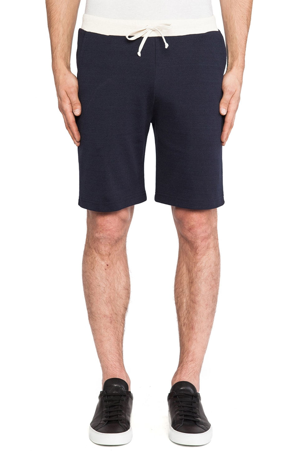 United Stock Dry Goods Dry Jersey Short in Navy